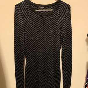 Express sweater dress
